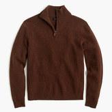 J.Crew Slim lambswool half-zip sweater