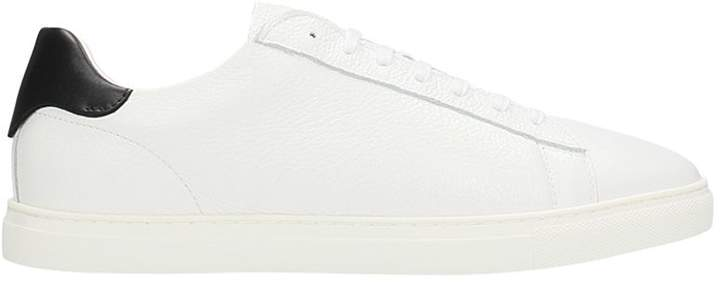 DSQUARED2 New Tennis White Leather Sneakers