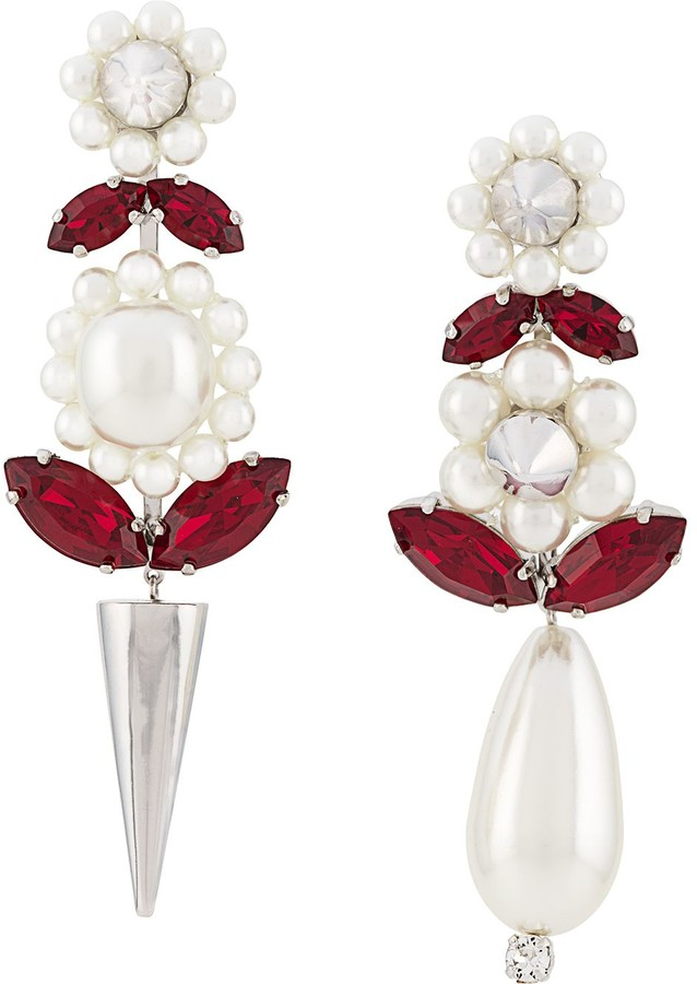 Simone Rocha Flower Shape Earrings