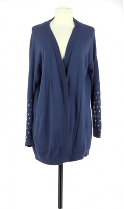 Sandro Navy Cotton Knitwear for Women