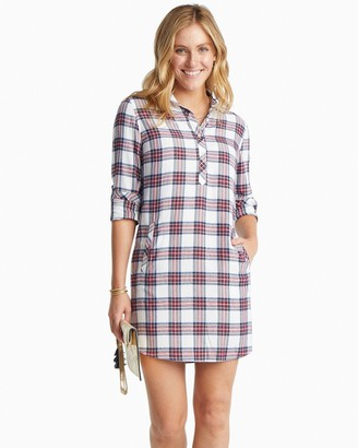 Southern Tide Alyssa Plaid Shirtdress