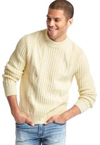 Gap Cable knit crew sweater