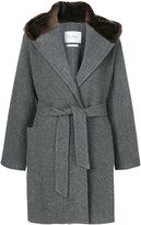 Max Mara classic tailored belted coat