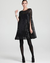 DKNY Sequin Cape Tunic
