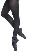 Angelina Black Six-Pack Ballet Tights Set - Girls