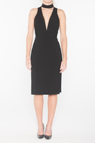Mason by Michelle Mason Deep V Dress