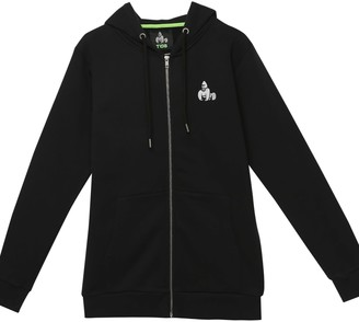 That Gorilla Brand Gorilla Zip Hoody Unisex Style - Black
