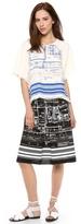 Clover Canyon Blueprint Skirt
