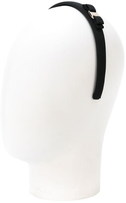 Salvatore Ferragamo Bow Embellished Hair Band