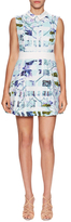 BCBGeneration City Print Fit And Flare Dress