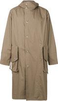 Maison Margiela button-up trench coat