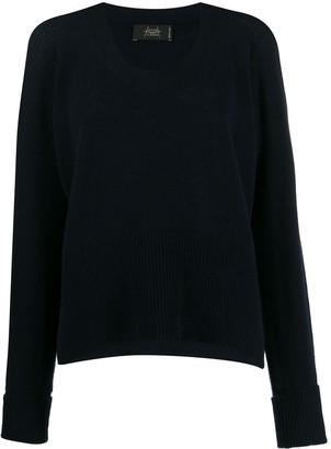 Maison Flaneur Round-Neck Knit Sweater