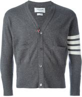 Thom Browne striped sleeve cardigan