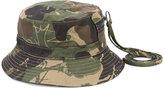 Haculla - camouflage print bucket hat - unisex - Cotton - L/XL