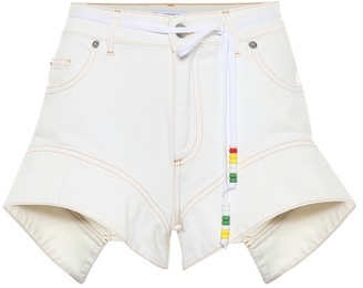 J.W.Anderson Belted denim shorts