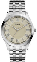 GUESS Polished Stainless Steel Bracelet Watch- U0476G2