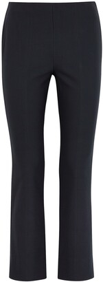Vince Navy Stretch-jersey Trousers