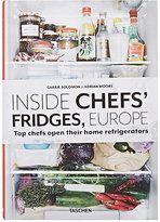 Taschen Inside Chefs' Fridges, Europe: Top Chefs Open Their Home Refrigerators