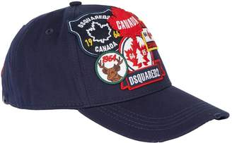 DSQUARED2 Big Logo Trucker Cap