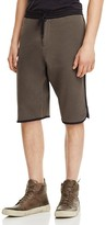Public School Tryan Contrast Trim Elongated Shorts