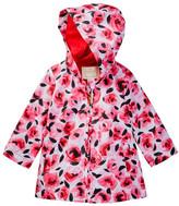 Kate Spade Hooded Rose Raincoat (Baby Girls)