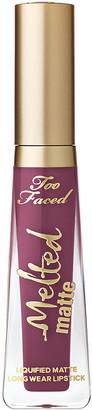 Too Faced Melted Matte-Tallic Liquid Lipstick