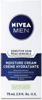 Nivea Men Sensitive Skin Face Moisture Cream, 75mL (Pack of 4)