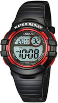 Lorus R2379HX-9 Watch in Black/Red