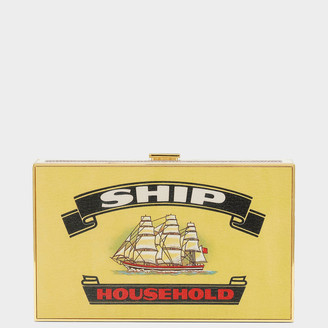 Anya Hindmarch Ship Matches Imperial Clutch