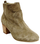 Steve Madden Harber Suede Ankle-Length Booties