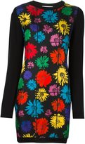 Moschino floral knitted dress