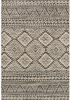 Loloi Rugs Emory Graphite & Ivory Area Rug Rug