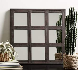 Pottery Barn Grid Accent Mirror