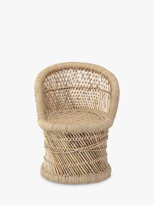 Bloomingville MINI Bamboo Children's Chair, Natural