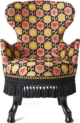 Gucci GG jacquard armchair