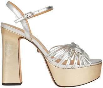 Schutz Anselma Open Toe Platfrom Sandals