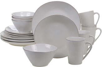 Certified International Harmony Cream 16Pc Dinnerware Set