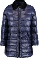 RED Valentino Velvet-trimmed padded shell coat