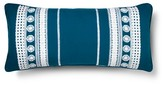 "Mudhut Tamerin Decorative Pillow (12""x26"") Blue"