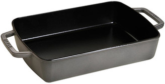 Staub Rectangular Baking Dish - Graphite