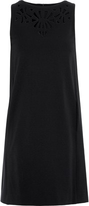 Etro Broderie Anglaise Stretch-crepe Mini Dress