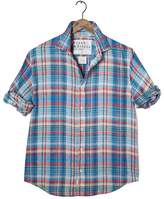 Frank And Eileen Mens Paul Italian Linen Plaid Shirt