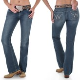 Wrangler Mae Booty-Up Jeans - Low Rise, Bootcut (For Women)
