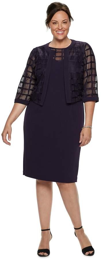 98ebcf9aabb9 Plus Size Eggplant Dress - ShopStyle