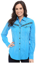 Rock and Roll Cowgirl Long Sleeve Snap B4S4463