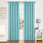 Eclipse Curtains Eclipse Kids Kendall Blackout Window Curtain Panel, 42 by 84-Inch, Pool