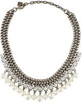 Dannijo Crystal & Pearl Collar