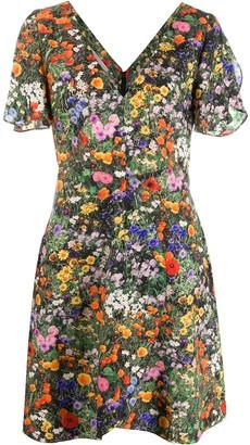 Stella McCartney Floral-Print Mini Dress