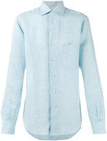 Loro Piana Andre ML Sahara Melange shirt - men - Linen/Flax - S