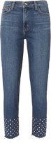 L'Agence Angelique Stud Hem Jeans